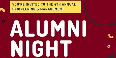 McMaster Engineering and Management Alumni Night (Presented by MEMS) tickets