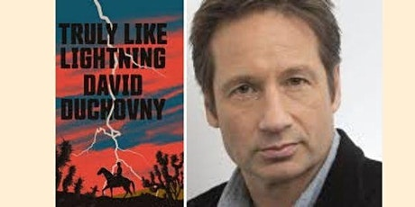 (Online) Pop-Up Book Group with David Duchovny: TRULY LIKE LIGHTNING tickets