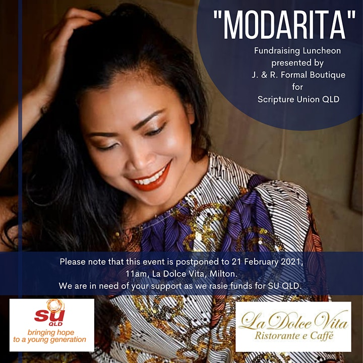 MODARITA - A Fundraising Luncheon supporting Scripture Union Qld image