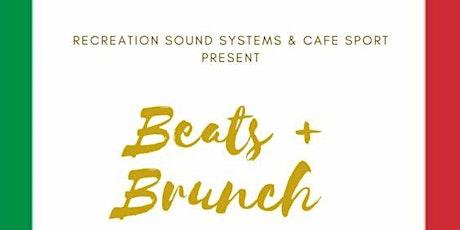 Beats + Brunch tickets