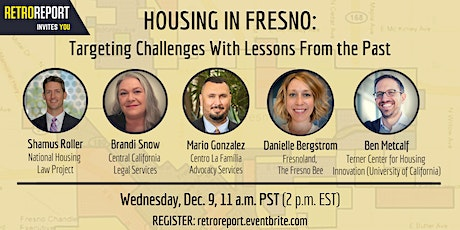 Housing in Fresno: Targeting Challenges With Lessons From the Past tickets