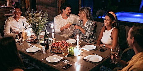 Table of Six -  Matched Singles Dinner Dates - FREE REGISTRATION tickets