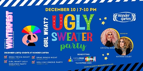 Girl What? Ugly Sweater Party tickets
