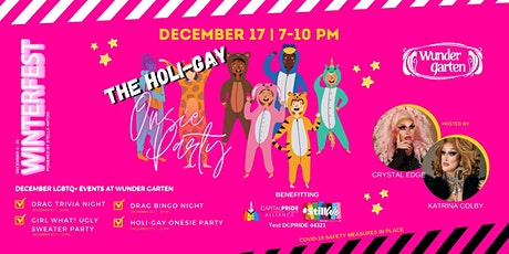 The Holi-Gay Onesie Party tickets