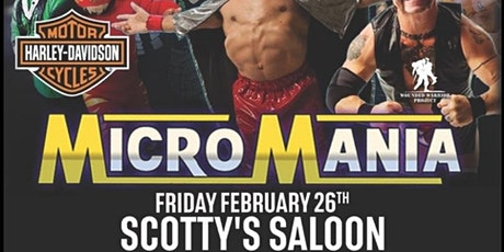 Midget Wrestling Live at Scotty's Saloon tickets