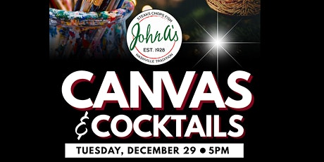 Canvas and Cocktails tickets
