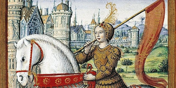 Joan of Arc and women in power in 15th century France image