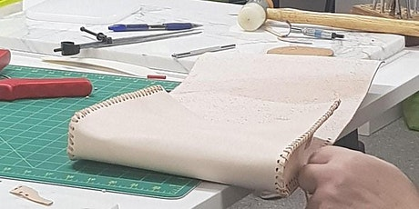 Beginners Lacing & Stamping - His or Hers Bag Leather Satchel tickets