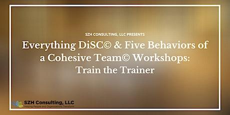 SZH Consulting Presents: DiSC Agile EQ Facilitator Training 2/3 tickets