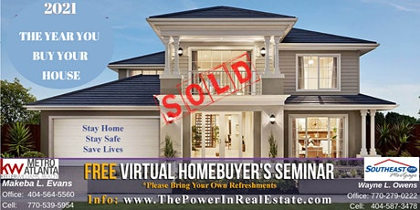 * FREE Virtual Homebuyer's Seminar * The Power In Real Estate * tickets