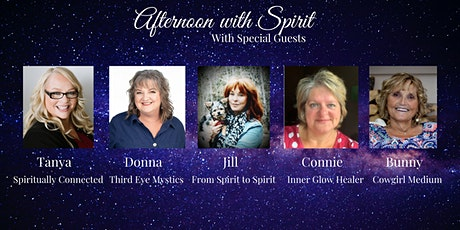 Afternoon with Spirit tickets