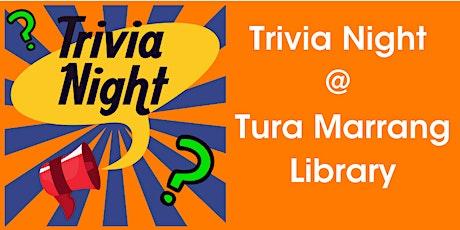 Trivia at the Library @ Tura Marrang Library tickets