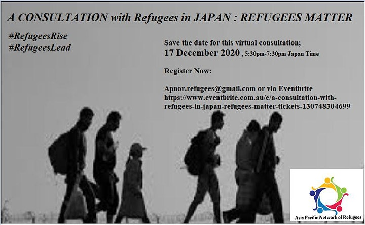 A consultation with Refugees in Japan; Refugees Matter image
