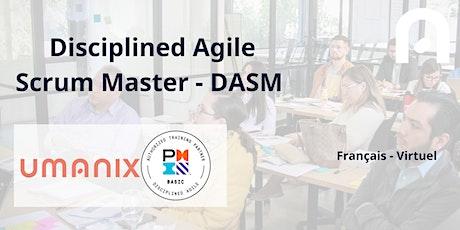 DASM -Disciplined Agile Scrum Master - en français billets