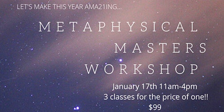 Metaphysical Masters 2021 tickets