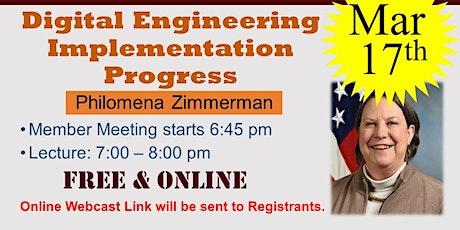 Digital Engineering Implementation Progress tickets