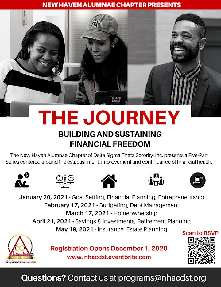 The Journey: Building and Sustaining Financial Freedom image