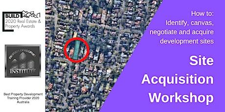 Property Development Site Acquisition Workshop tickets