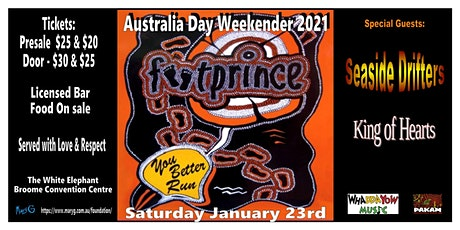 Footprince - on the road again, Australia Day Longweekender tickets