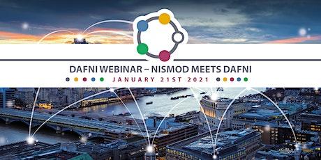 DAFNI webinar - NISMOD meets DAFNI tickets