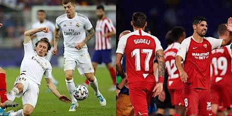 ViVO!!.-@Sevilla v R.e.a.l Madrid E.n Viv y E.n Directo ver Partido online entradas