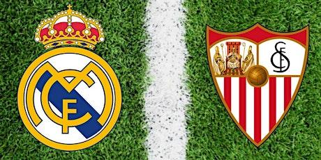 TV/VIVO.-Sevilla v R.e.a.l Madrid E.n Viv y E.n Directo ver Partido online entradas