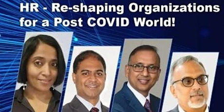 Webinar HR - Re-shaping Organizations for a Post COVID World! tickets