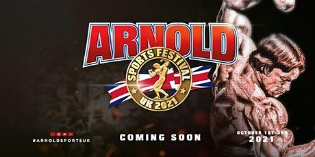 Arnold Sports Festival UK 2021 billets