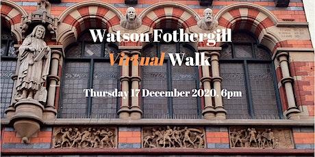 Watson Fothergill Virtual Walk - Zoom Tour of Nottingham Tickets