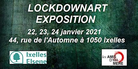 LockdownArt - exposition en duo jeunes artistes et auteurs.es billets