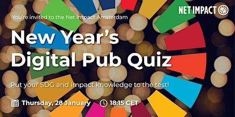 Net Impact Amsterdam's New Year's Digital Pub Quiz tickets