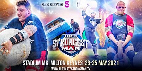 UK's Strongest Man 2021 tickets