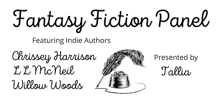 Fantasy Fiction - Indie Author discussion panel tickets