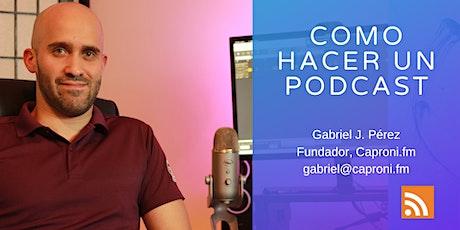 Como crear un podcast para generar ingresos entradas