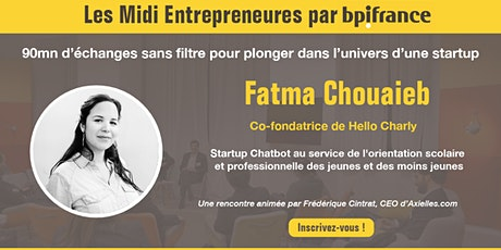 Midi Entrepreneures  #15 billets