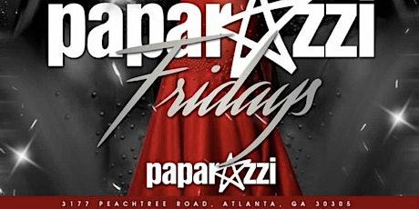 Paparazzi Friday's tickets