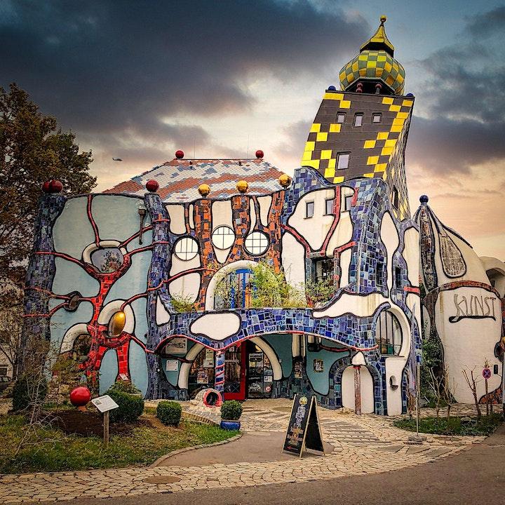 Afbeelding van Kruip in de huid van Hundertwasser