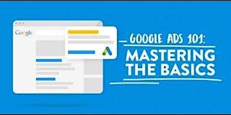 [Free Masterclass] Google AdWords Tutorial & Walk Through in Orange tickets