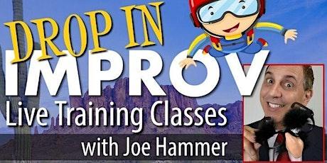 Live Essential Improv Comedy Class tickets