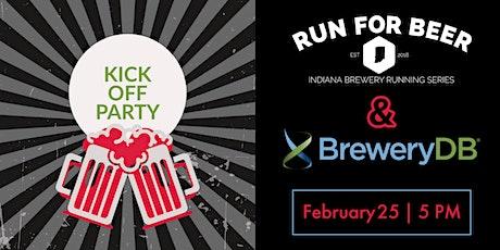 2021 Indiana Brewery Running Series Kickoff with BreweryDB tickets