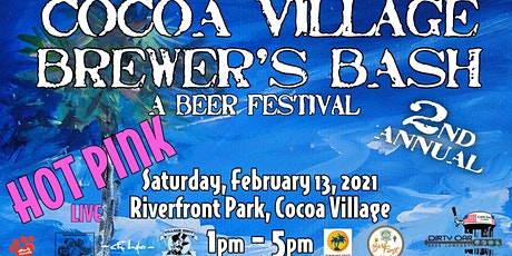 Cocoa Village's 2nd Annual Brewer's Bash tickets