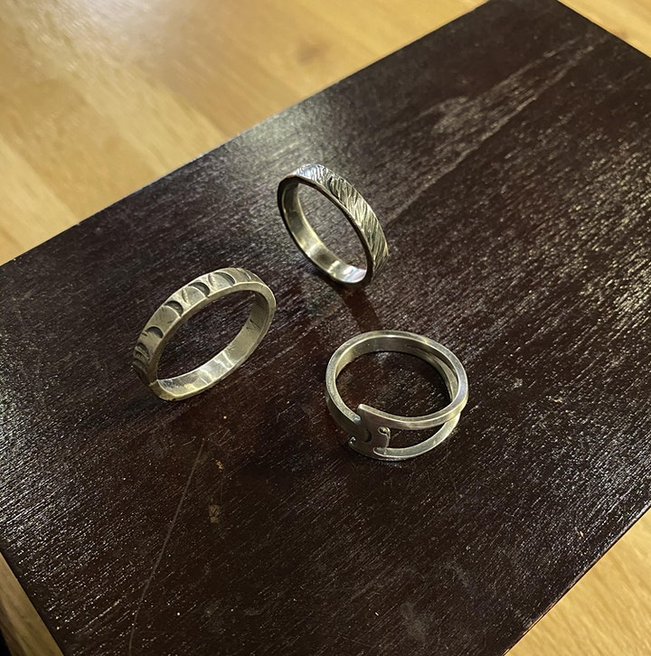 Silver Rings - Jewelry Workshop image