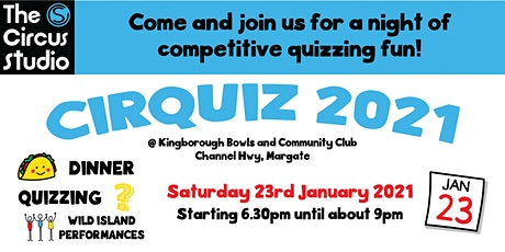 CirQuiz 2021 - A Fundraiser for The Circus Studio tickets