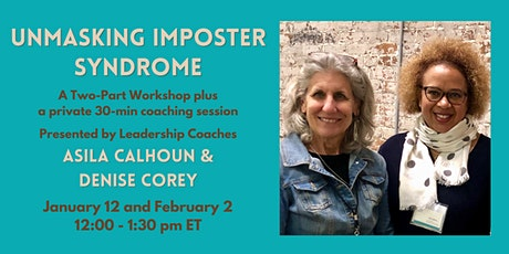 Unmasking Imposter Syndrome tickets