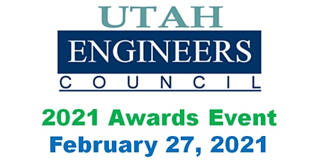 2021 Utah Engineers Council (UEC) Awards Event -- Virtual Attendance tickets