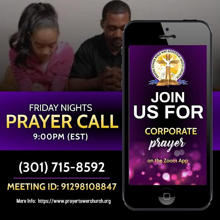 Online Intercessory Prayer Call  | Laurel, MD image