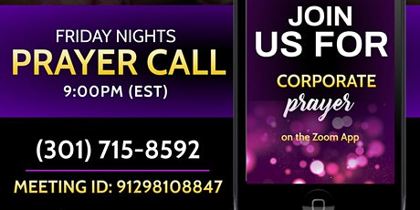 Online Intercessory Prayer Call  | Laurel, MD tickets