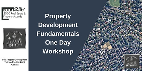Property Development Fundamentals One Day Workshop tickets