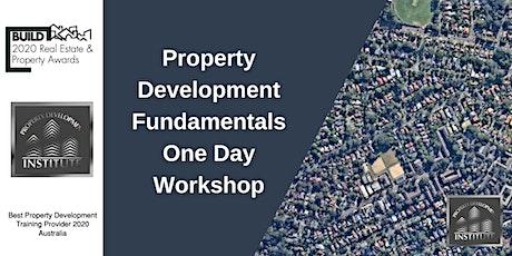 Property Development Fundamentals One Day Workshop Online Only tickets