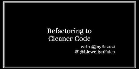 Workshop: Refactoring to Cleaner Code tickets